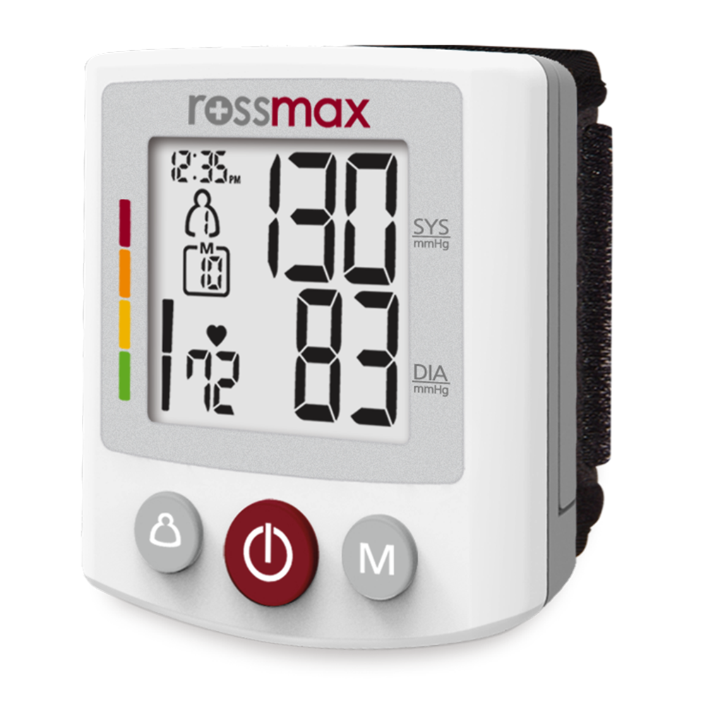 "BQ705 - ""XL"" Deluxe Automatic Wrist Blood Pressure Monitor"