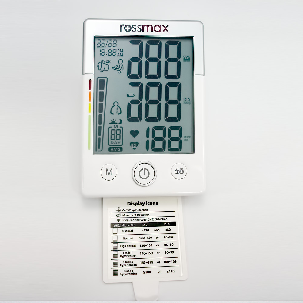 "MW701f - ""XL"" Deluxe Automatic Blood Pressure Monitor"