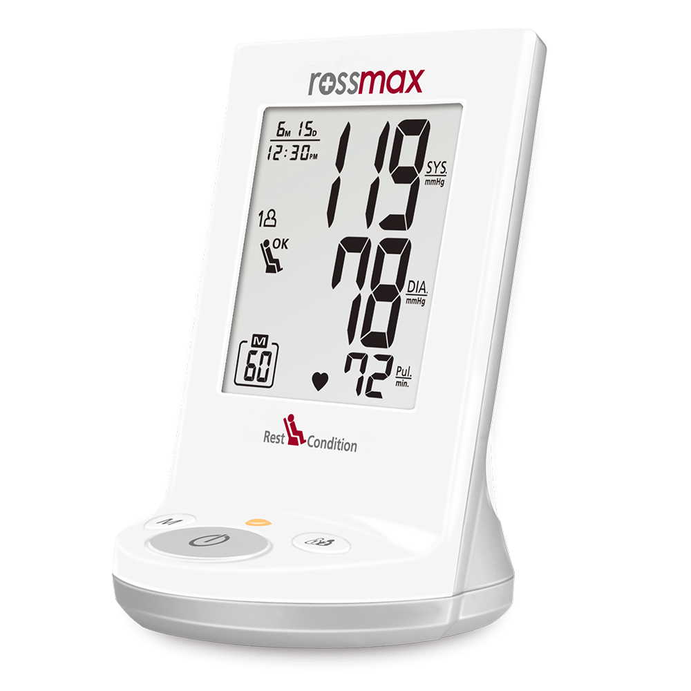"AD761f - ""Rest"" Deluxe Automatic Blood Pressure Monitor"