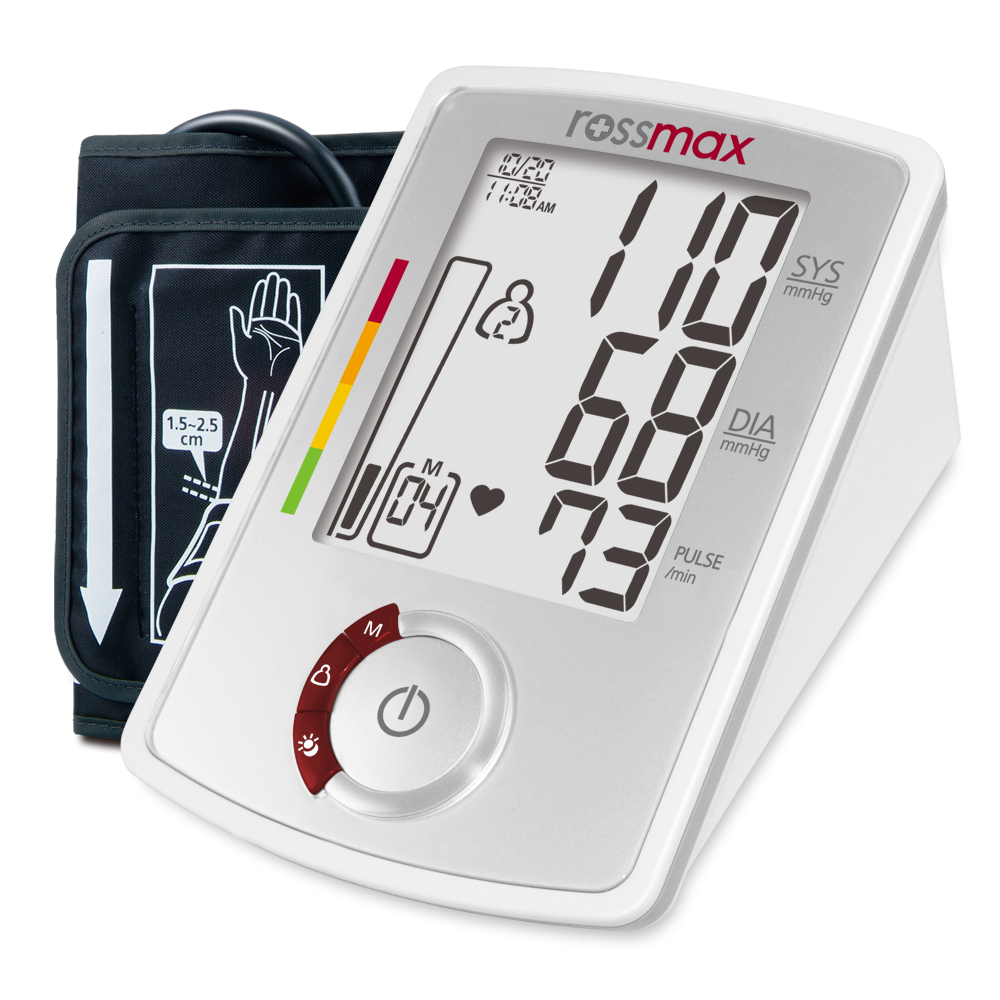 "AU941f - ""7/14/21/28"" Deluxe Automatic Blood Pressure Monitor"