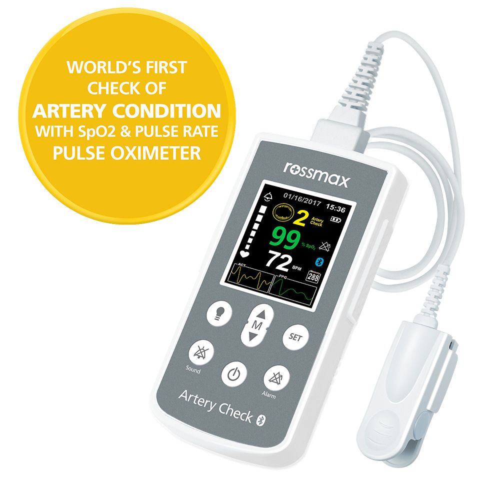 "SA300 - Handheld Pulse Oximeter with ""ACT"""