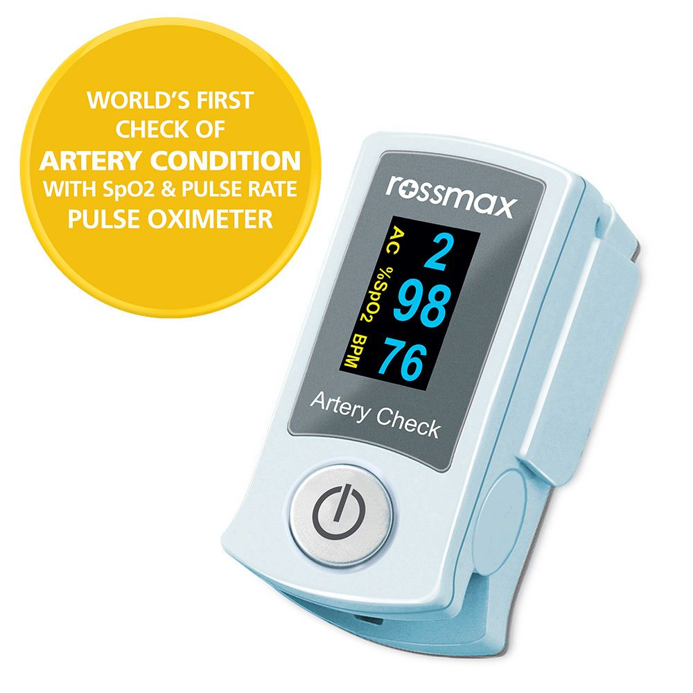 "SB200 - Fingertip Pulse Oximeter with ""ACT"""